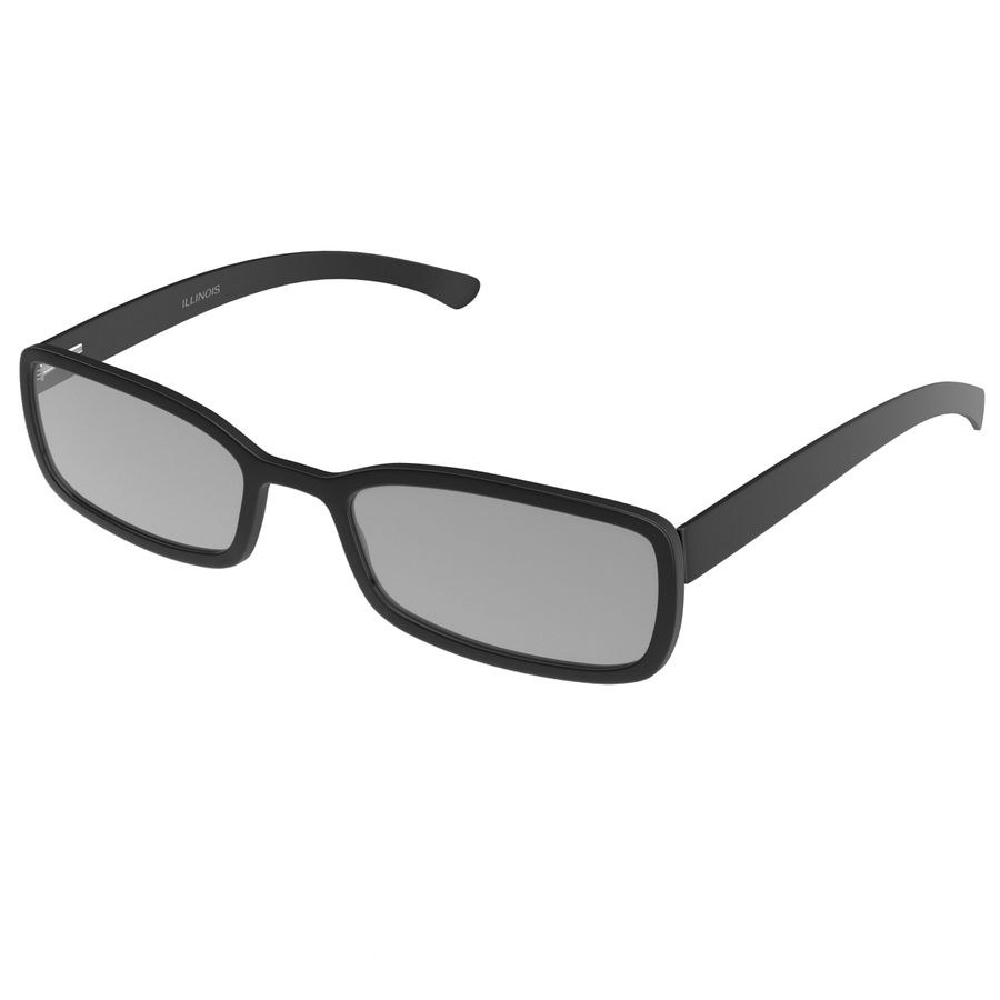 Glasses Collection royalty-free 3d model - Preview no. 25