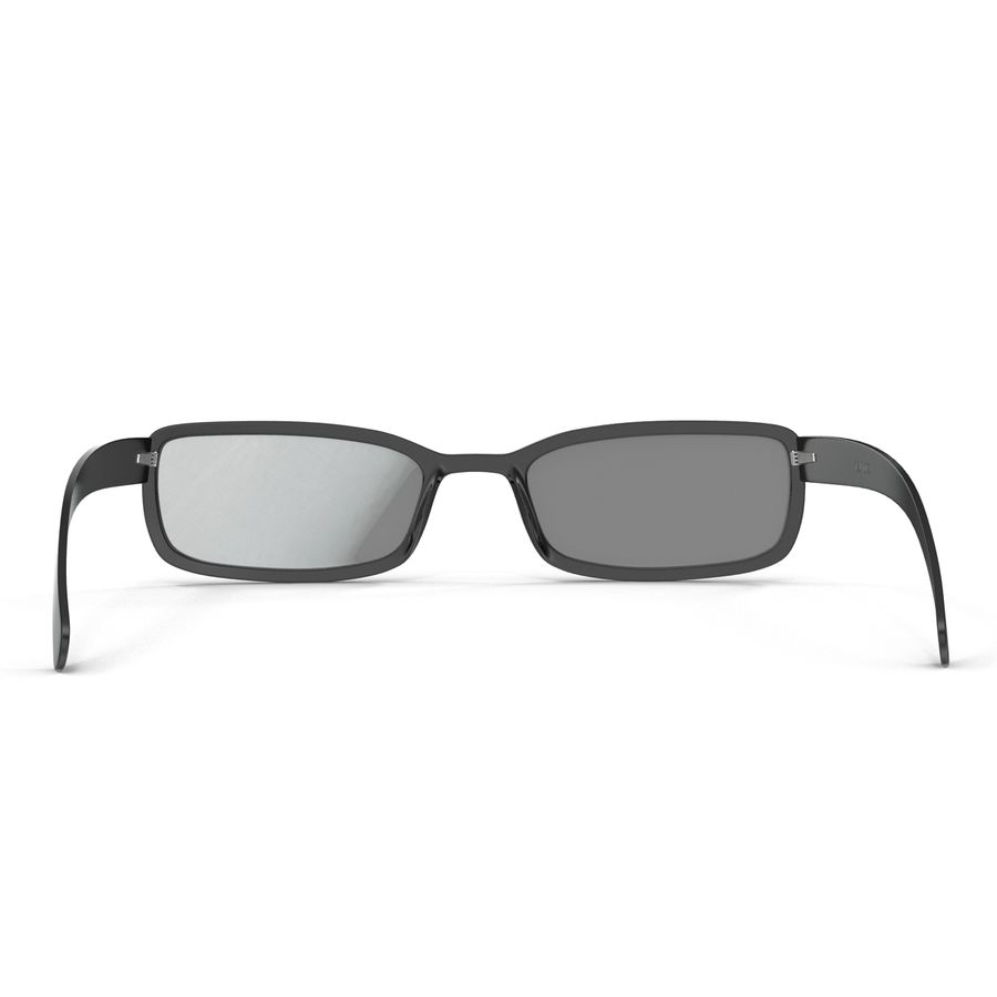 Glasses Collection royalty-free 3d model - Preview no. 18