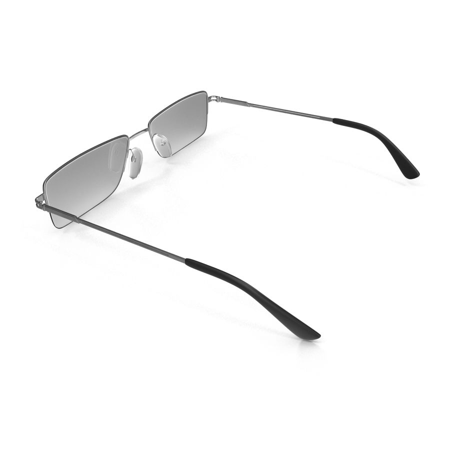 Glasses Collection royalty-free 3d model - Preview no. 30