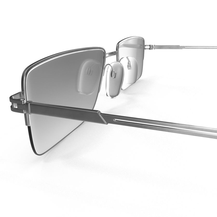 Glasses Collection royalty-free 3d model - Preview no. 34