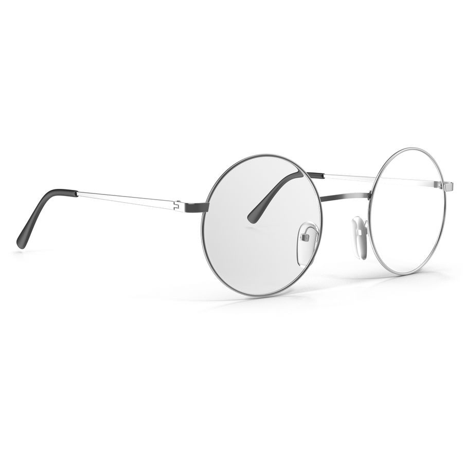 Glasses Collection royalty-free 3d model - Preview no. 42