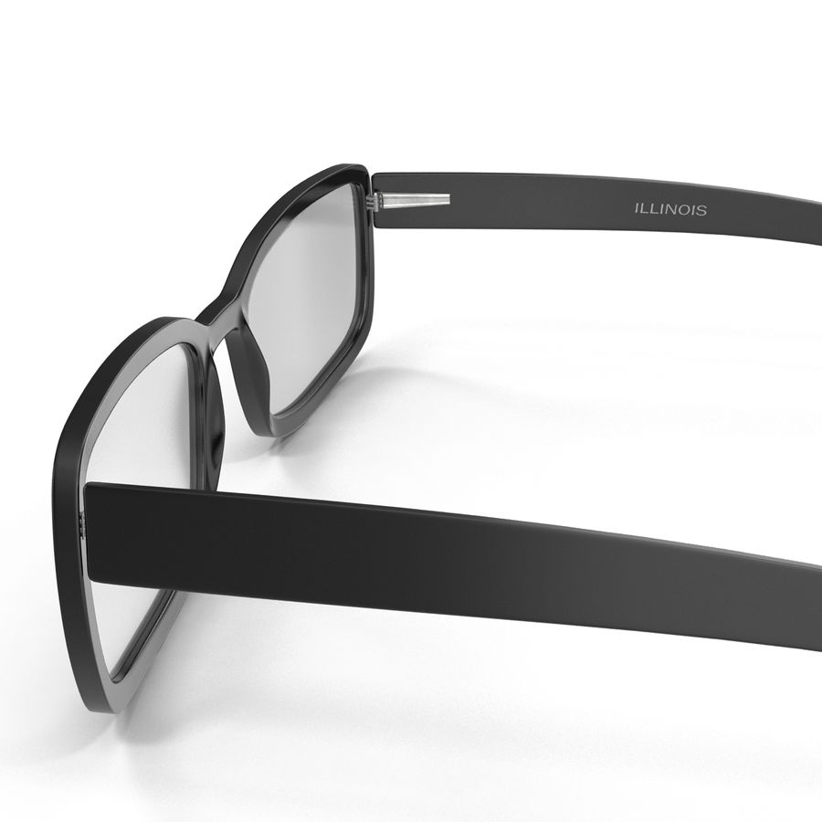 Glasses Collection royalty-free 3d model - Preview no. 23