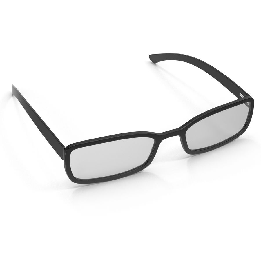 Glasses Collection royalty-free 3d model - Preview no. 19