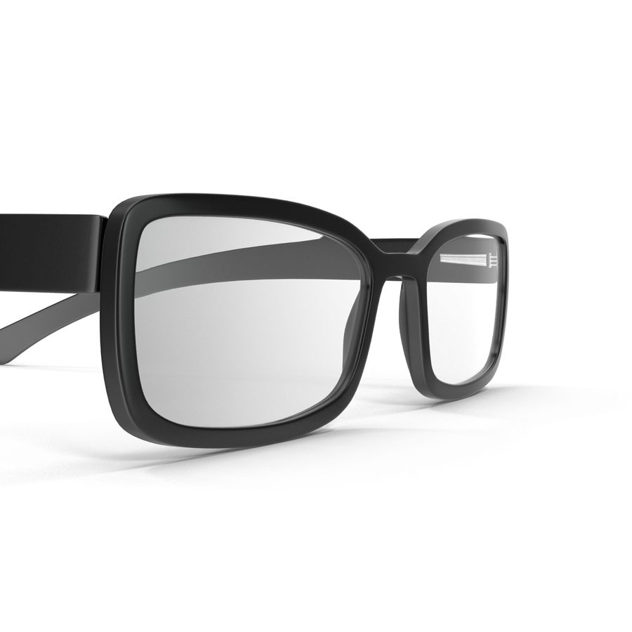 Glasses Collection royalty-free 3d model - Preview no. 22