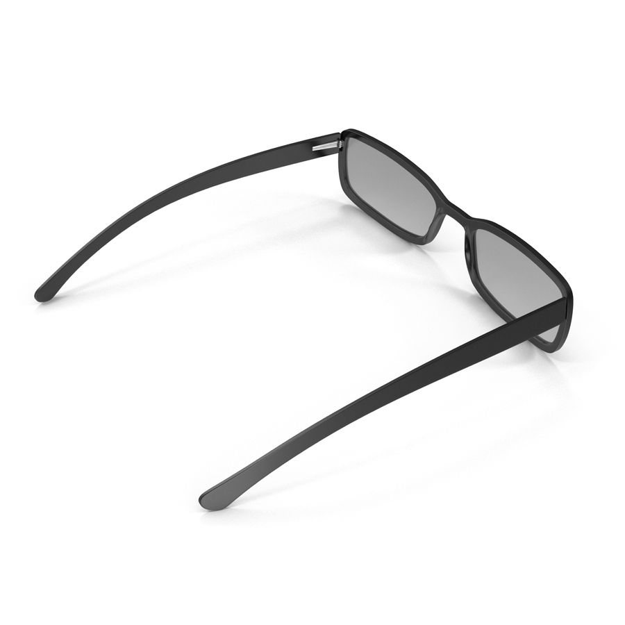 Glasses Collection royalty-free 3d model - Preview no. 20