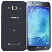Samsung Galaxy J5 Black 3d model