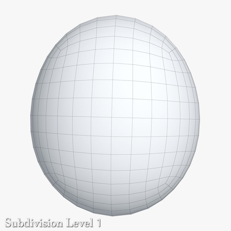 Egg Package With Eggs royalty-free 3d model - Preview no. 9