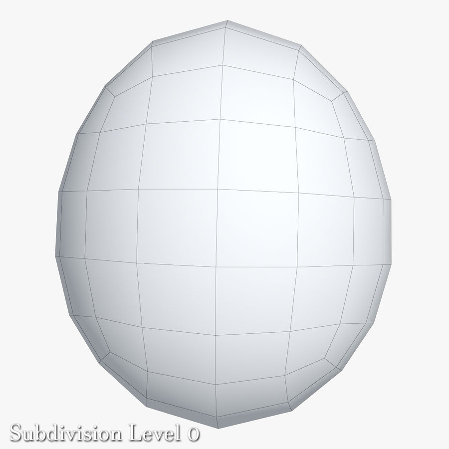 Egg Package With Eggs royalty-free 3d model - Preview no. 8