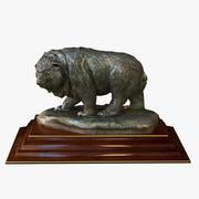 Bear Statuette 3d model