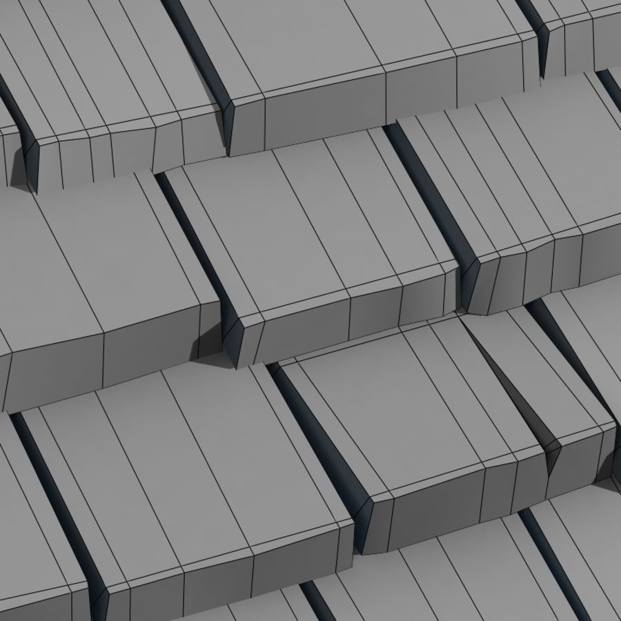 Roofing #09 royalty-free 3d model - Preview no. 3