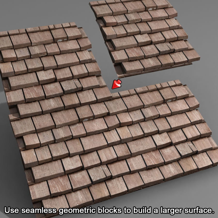 Roofing #09 royalty-free 3d model - Preview no. 7