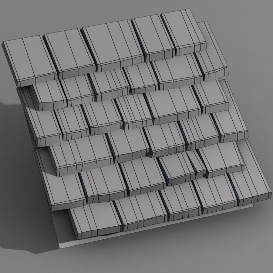 Roofing #09 royalty-free 3d model - Preview no. 6