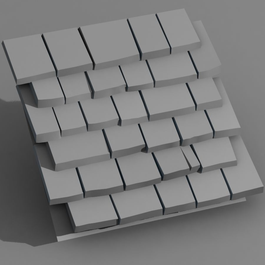 Roofing #09 royalty-free 3d model - Preview no. 5