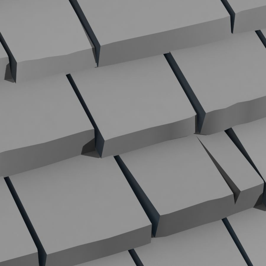 Roofing #09 royalty-free 3d model - Preview no. 2