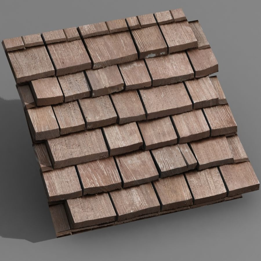Roofing #09 royalty-free 3d model - Preview no. 4