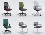 Collezione Office Chair 6 3d model