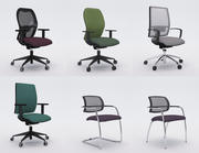 Kolekcja Office Chair 6 3d model