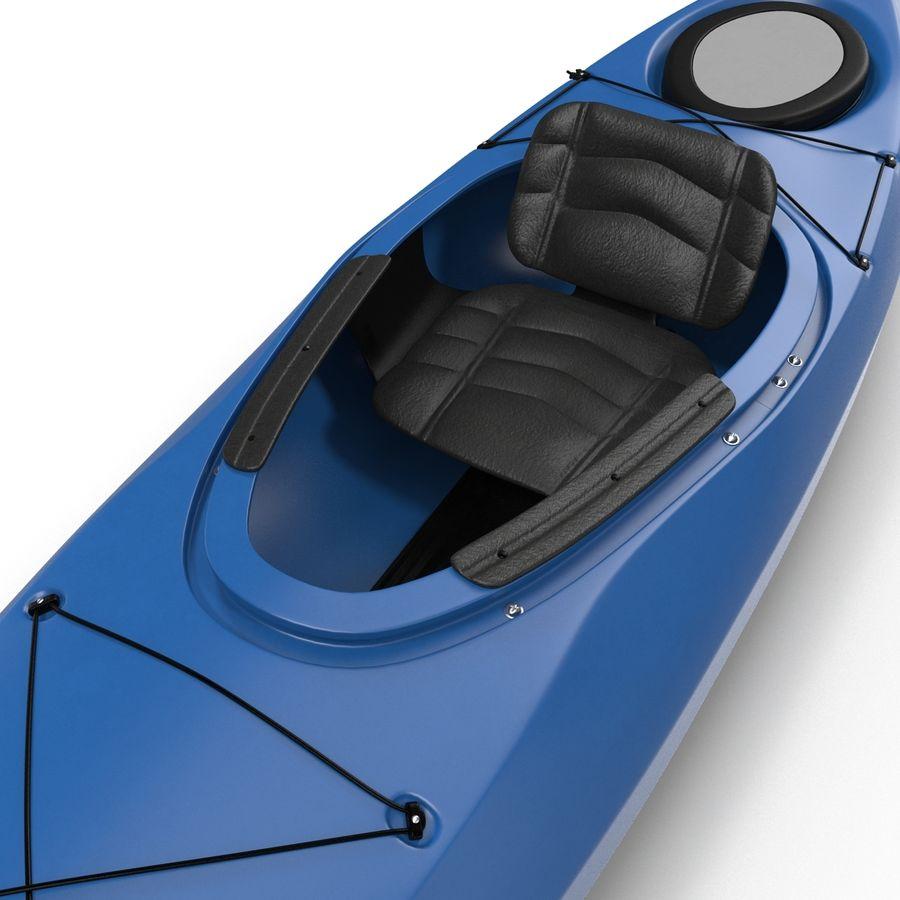 Kayak modelo 3D genérico royalty-free modelo 3d - Preview no. 10