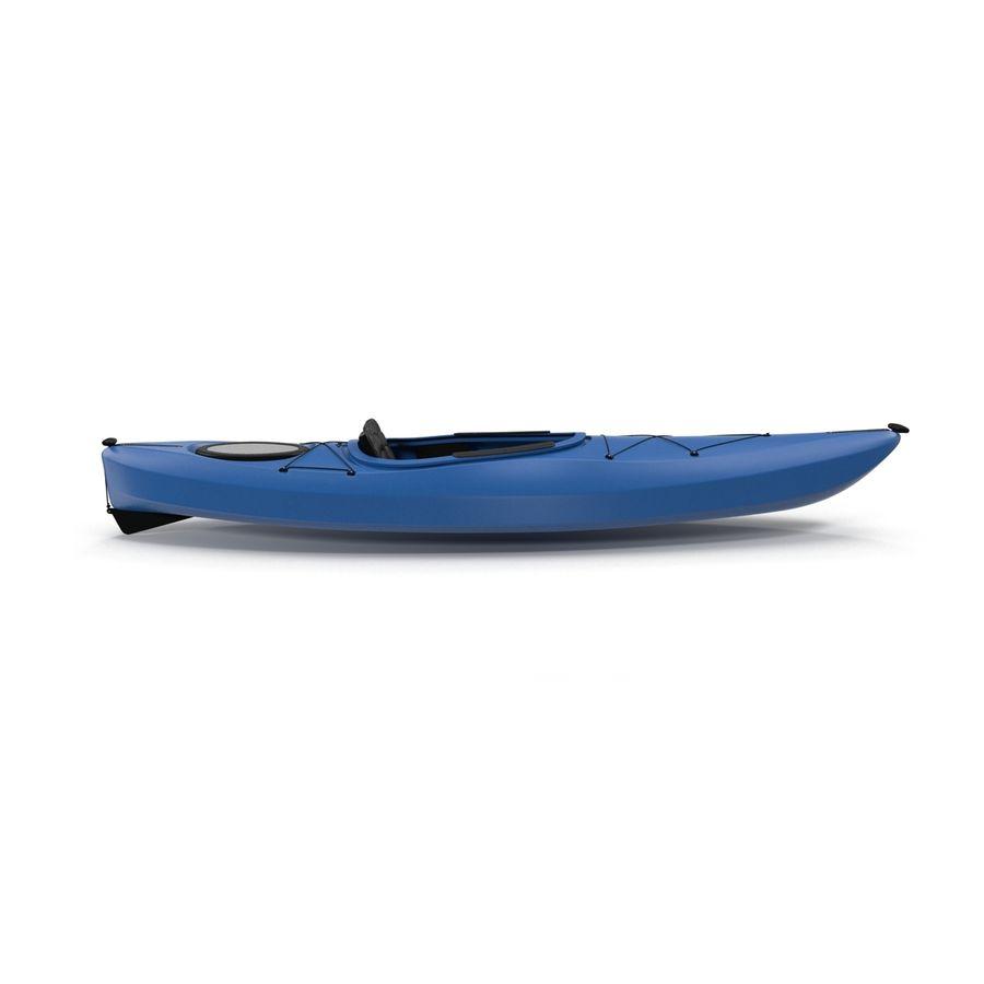 Kayak modelo 3D genérico royalty-free modelo 3d - Preview no. 6
