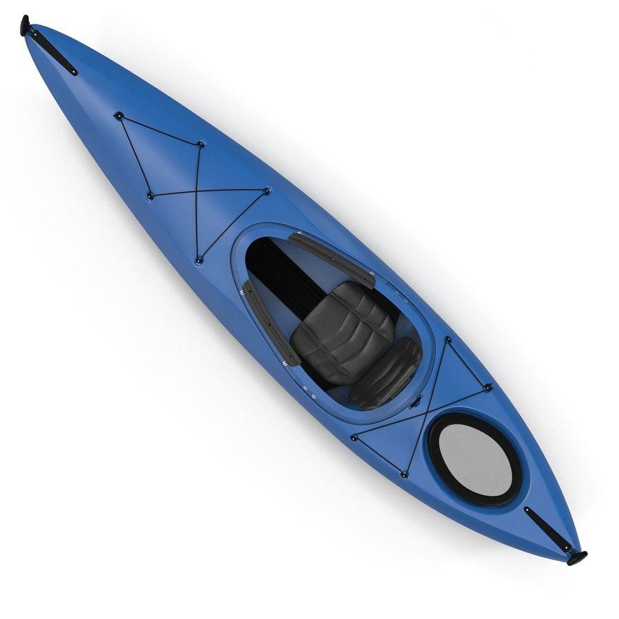 Kayak modelo 3D genérico royalty-free modelo 3d - Preview no. 7