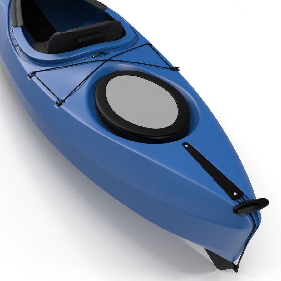 Kayak modelo 3D genérico royalty-free modelo 3d - Preview no. 11