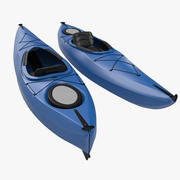 Kayak Generic 3D Model 3d model