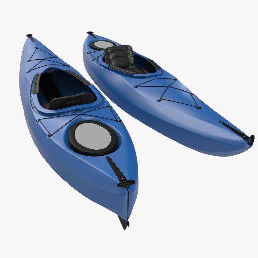 Kayak modelo 3D genérico royalty-free modelo 3d - Preview no. 1