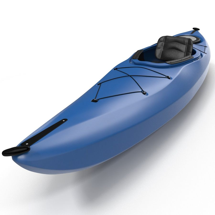 Kayak modelo 3D genérico royalty-free modelo 3d - Preview no. 8