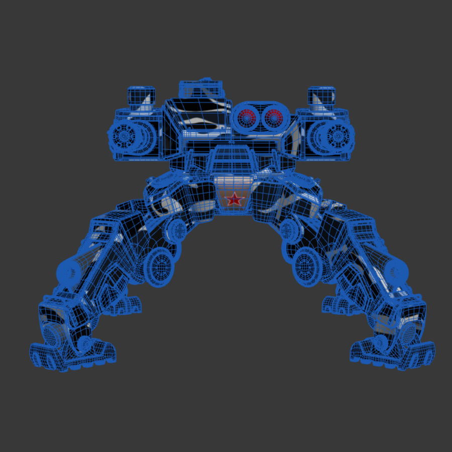 Bot royalty-free 3d model - Preview no. 9