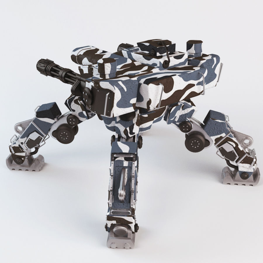 Bot royalty-free 3d model - Preview no. 3