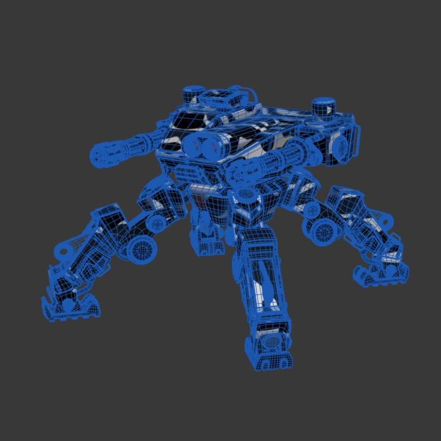 Bot royalty-free 3d model - Preview no. 5