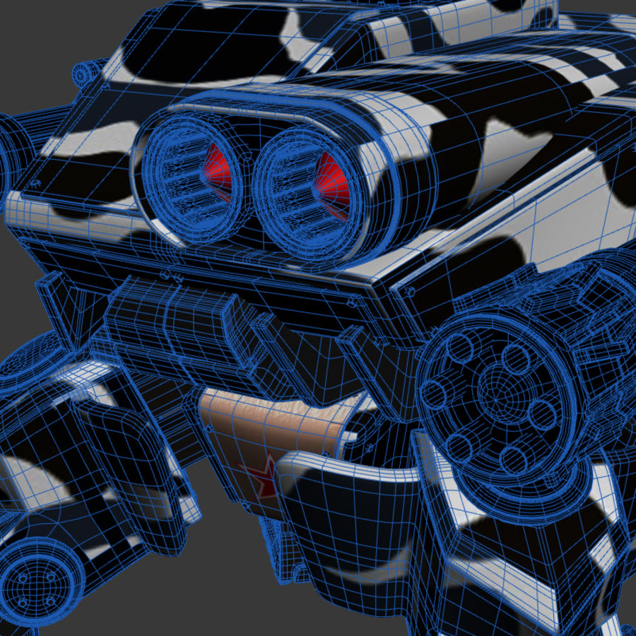 Bot royalty-free 3d model - Preview no. 11