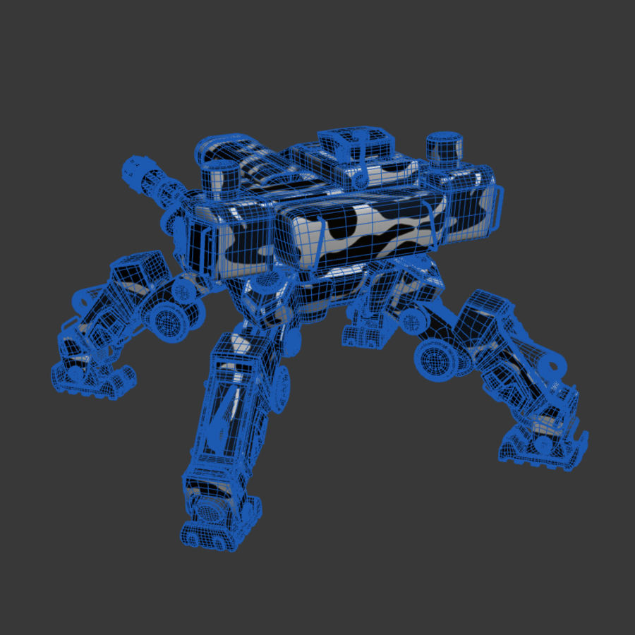 Bot royalty-free 3d model - Preview no. 7