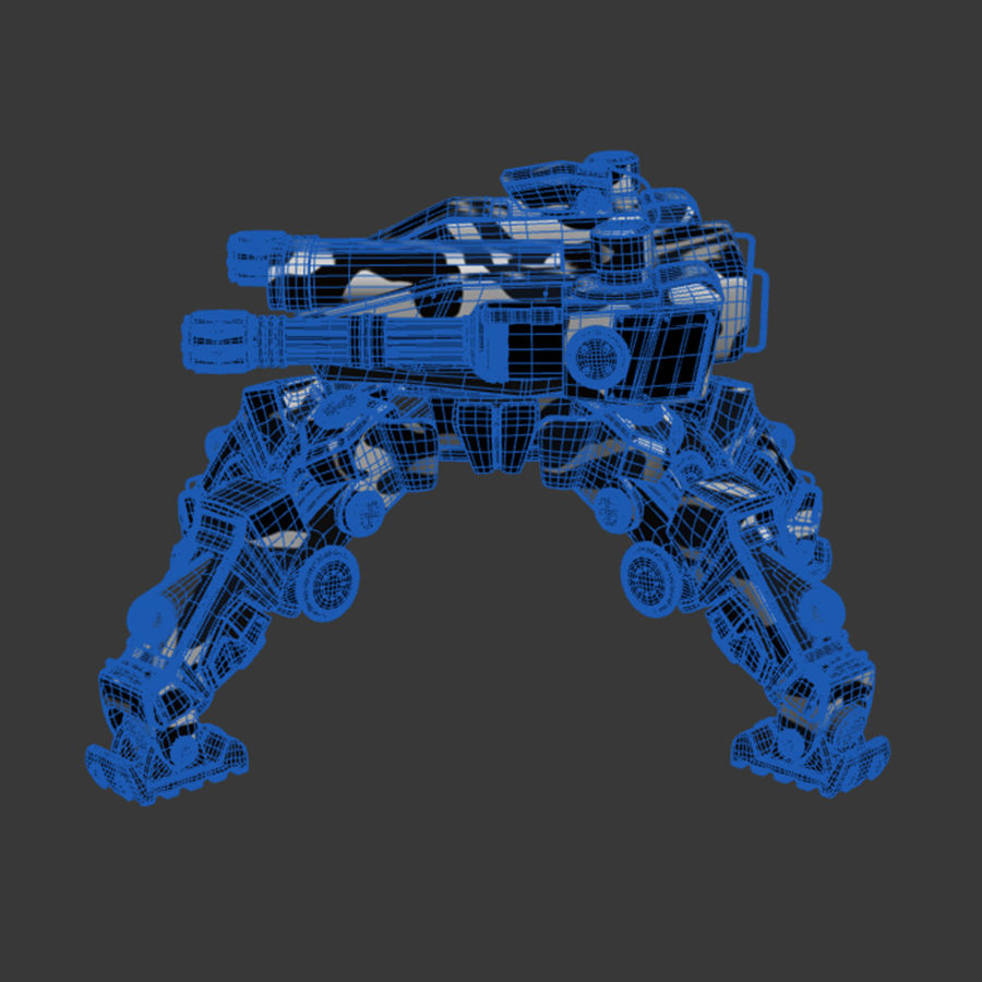 Bot royalty-free 3d model - Preview no. 6