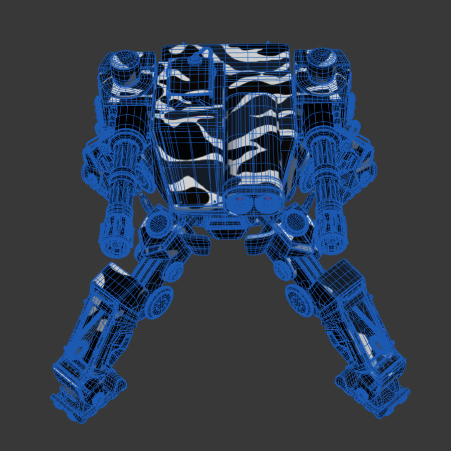 Bot royalty-free 3d model - Preview no. 10