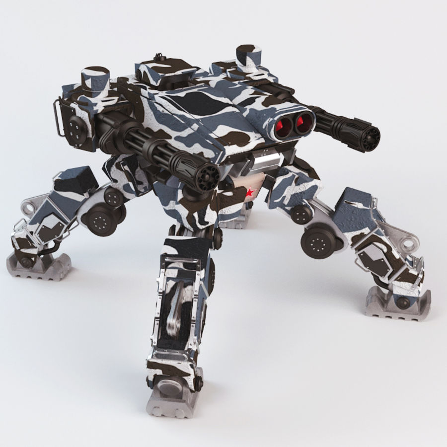 Bot royalty-free 3d model - Preview no. 1