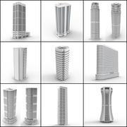 Skyscraper Collection 3d model