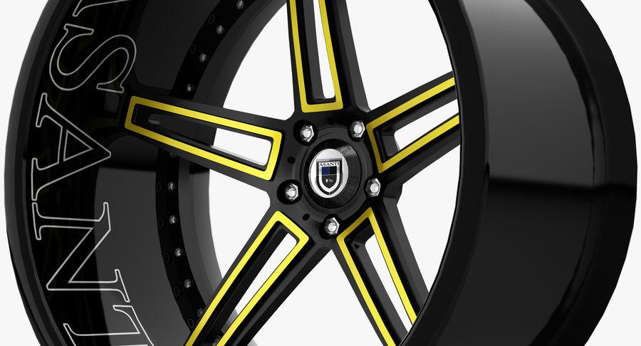 Asanti Concave CX-506 royalty-free 3d model - Preview no. 7