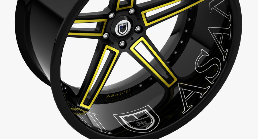 Asanti Concave CX-506 royalty-free 3d model - Preview no. 9