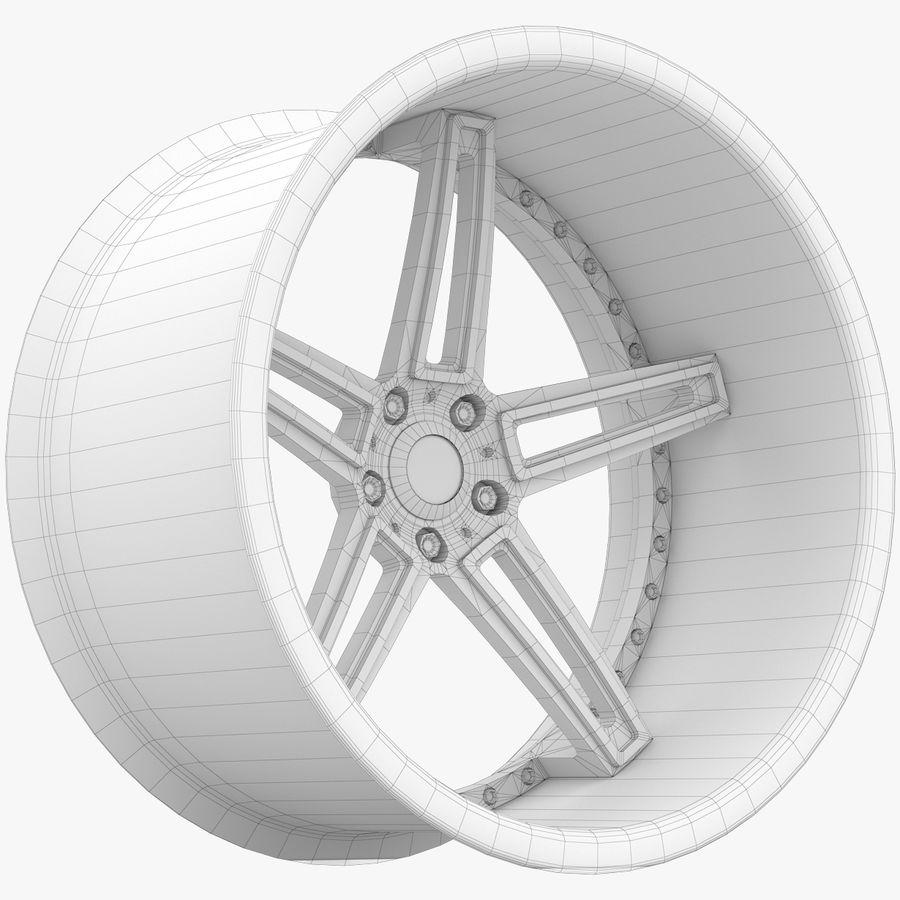 Asanti Concave CX-506 royalty-free 3d model - Preview no. 12