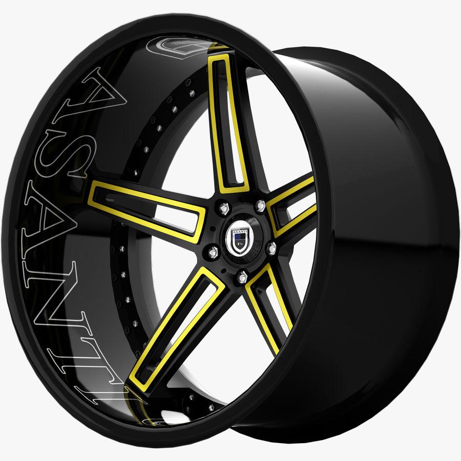 Asanti Concave CX-506 royalty-free 3d model - Preview no. 5