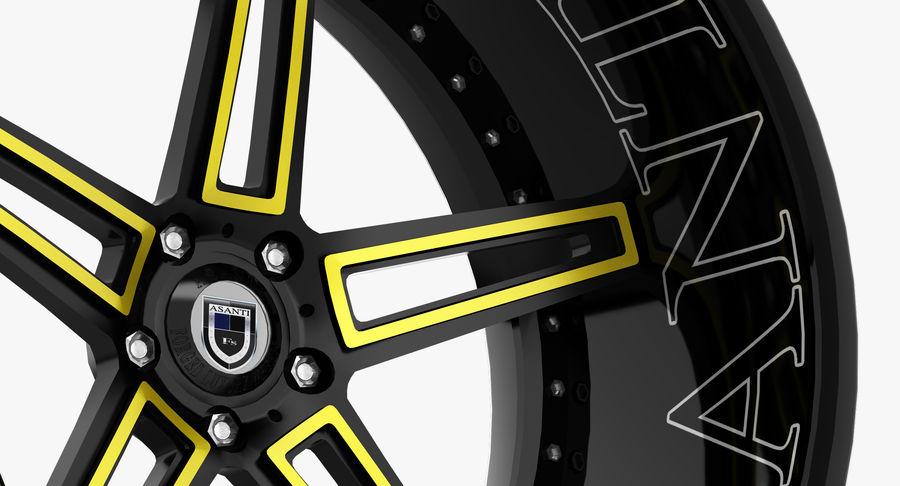 Asanti Concave CX-506 royalty-free 3d model - Preview no. 8