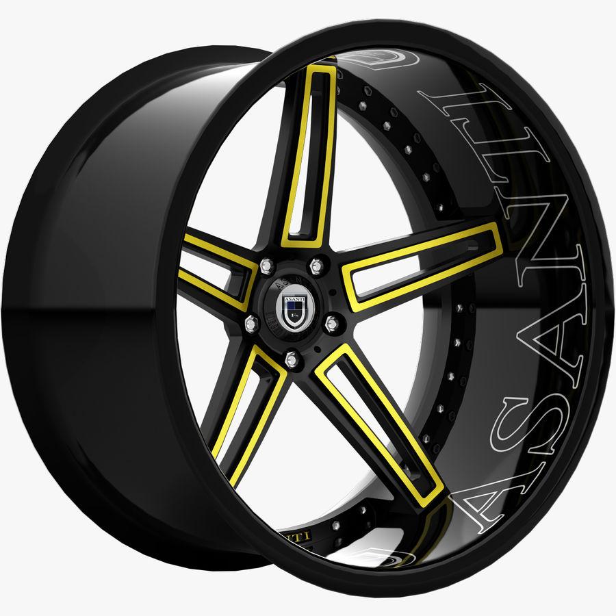 Asanti Concave CX-506 royalty-free 3d model - Preview no. 2