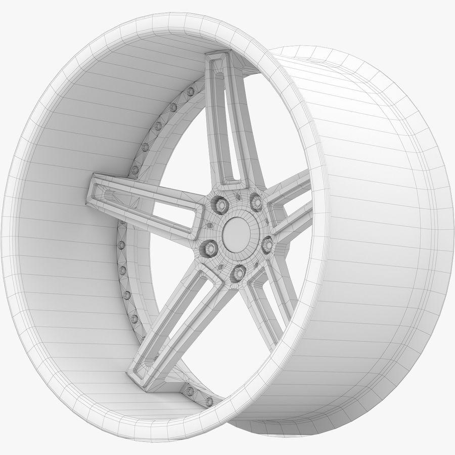 Asanti Concave CX-506 royalty-free 3d model - Preview no. 13