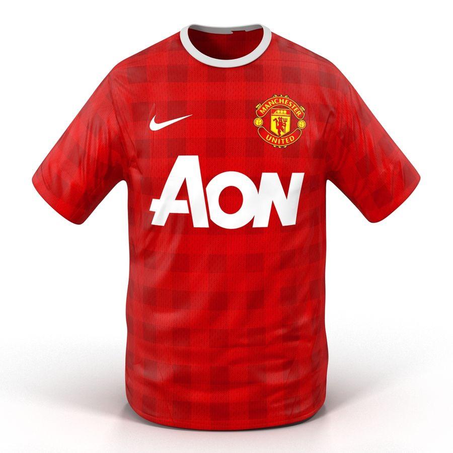 the latest 83b1f 3c3db T-Shirt Manchester United 3D Model 3D Model $29 - .c4d .max ...