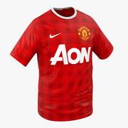 T-Shirt Manchester United 3D Model 3d model