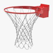 Terrain de basketball Spalding 3d model