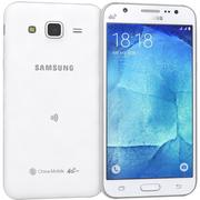 三星Galaxy J5白色 3d model