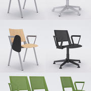 Collezione Office Chair 4 - Kentra 3d model