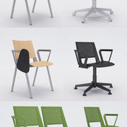 Coleção Office Chair 4 - Kentra 3d model